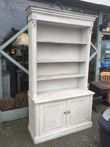 dresser, painted white dresser, dining room furniture, home, interior, tall dresser, side table,