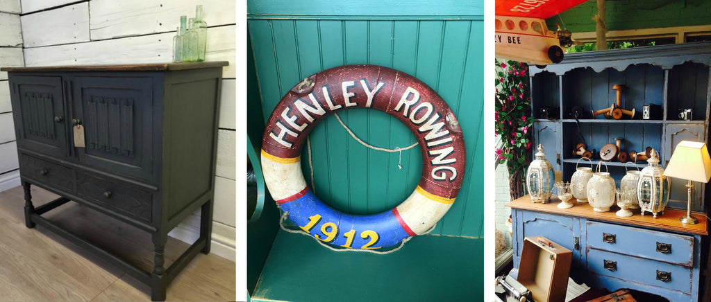 the furniture recycling shop, furniture, vintage, antiques, rowing, cabinet, glass, interior