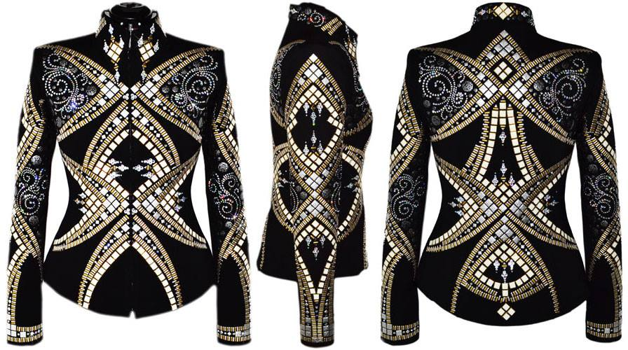 Lisa Nelle One of a Kind Western Show Jacket