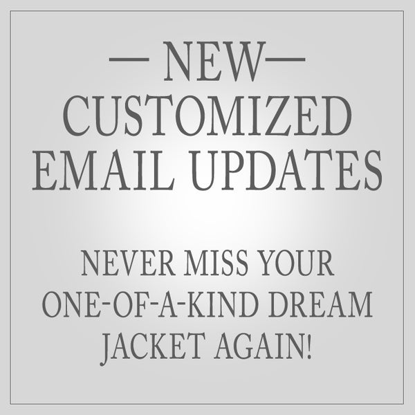 New customized email updates.