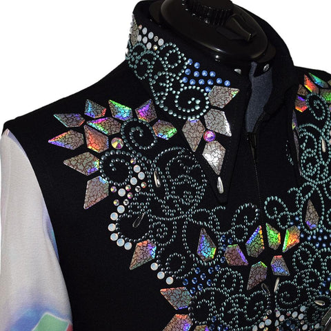Lisa Nelle Iridescent Vest and Undershirt Set