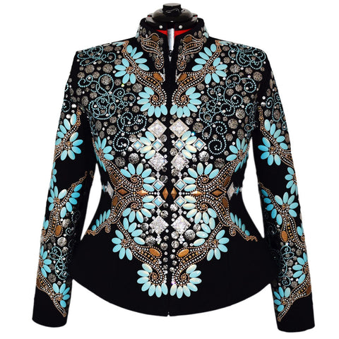 Mint Chip Western Show Jacket (2X)