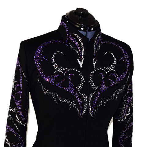 Purple and Gray Horsemanship Jacket (XXS-4X)