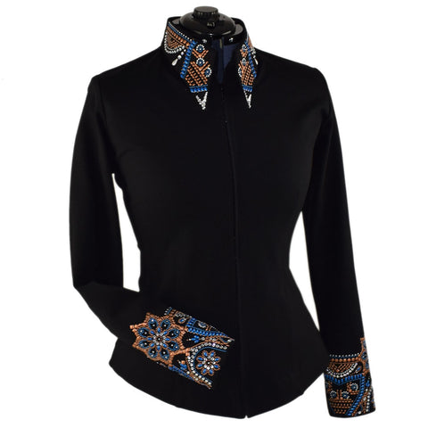 Royal Copper Elegance Show Jacket (XXS-5X)