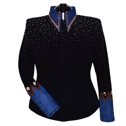 Whiskey, Denim and Diamonds Show Jacket (1X)