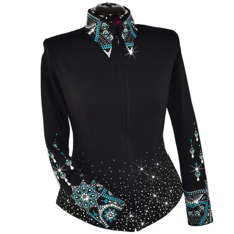 Jaded Emerald Noir Show Jacket (XXS - 5X)