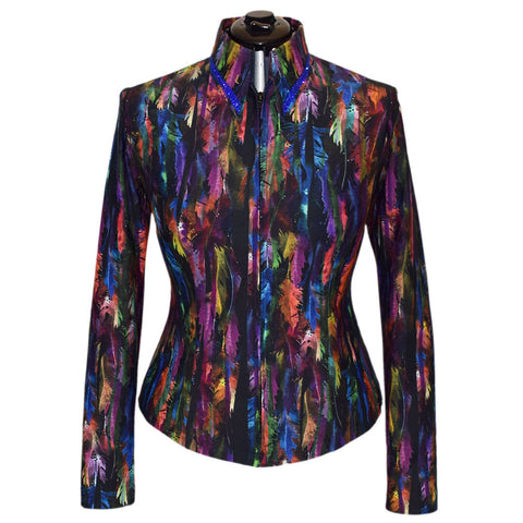 Jewel Feathers All Day Shirt (XS-2X)