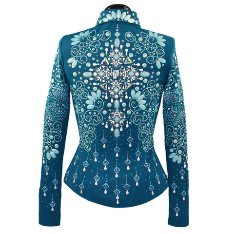 Teal Show Jacket (XXS)