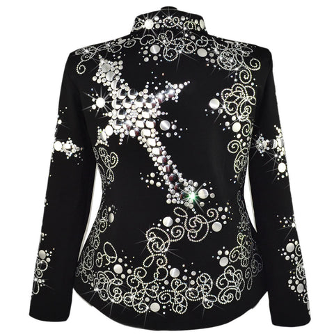 Plus Sized Cross Western Show Jacket (5X-Tall)