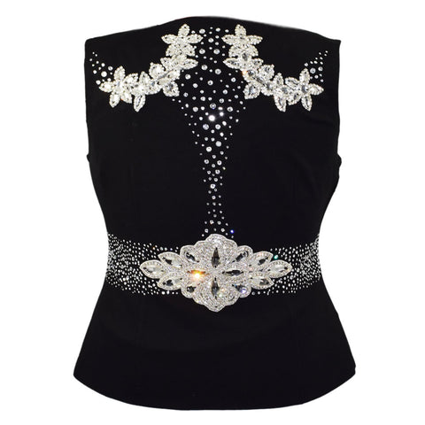 Crystal Chic Show Vest (1X/2X)
