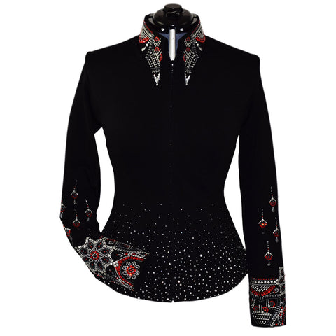 Ruby Noir Show Jacket (M)