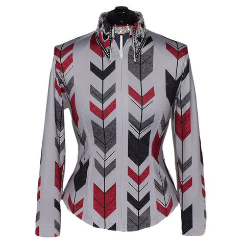 Red and Gray Arrows Show Shirt (M)