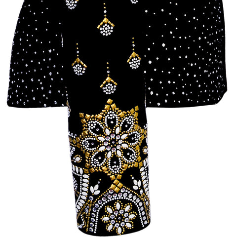 Gold Noir Show Jacket
