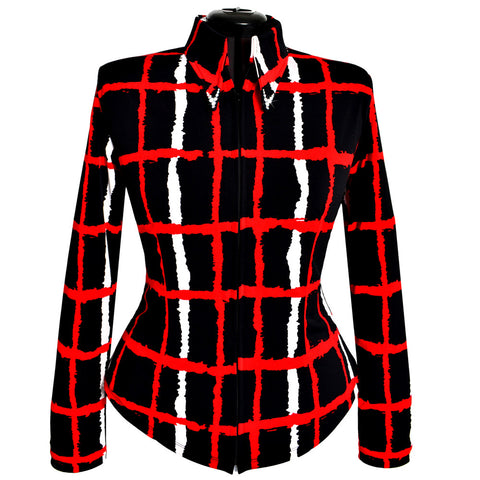 Red Stripes Show Shirt (XS - 5X)