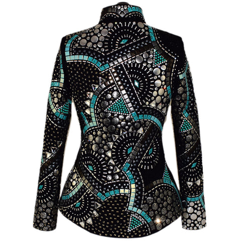 Abstract Showmanship Jacket (S/M)