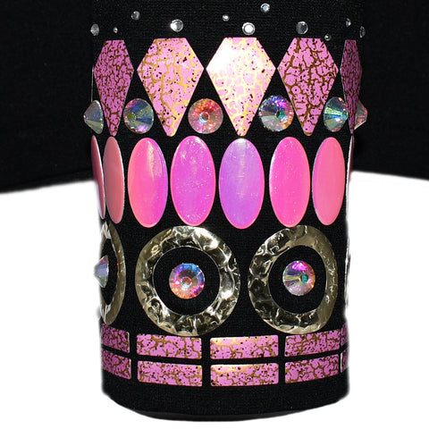 Pink and Gold Showmanship Jacket (XL)