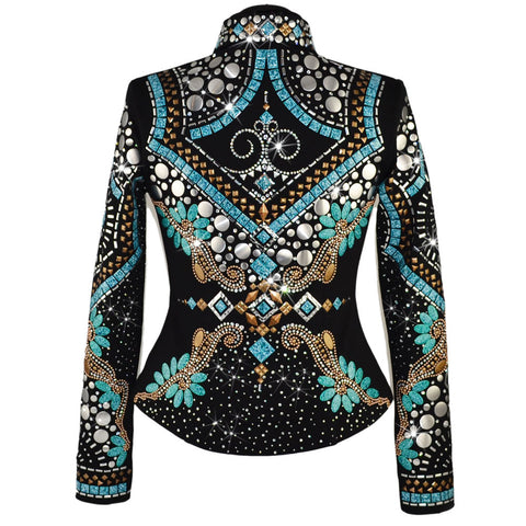 Jaded Sedona Western Show Jacket (S)