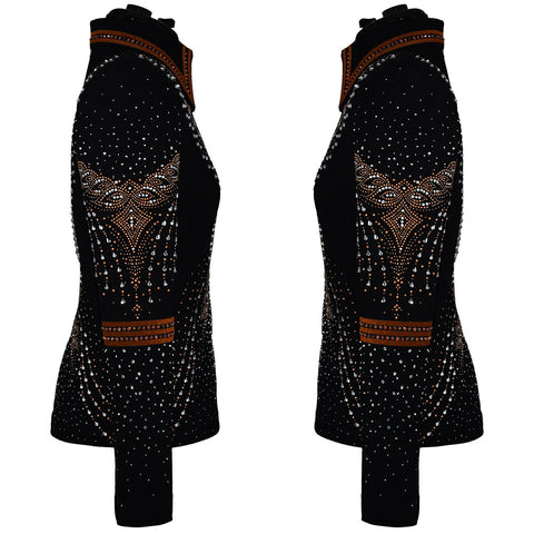 Copper and Crystal Showmanship Jacket (XS/S)