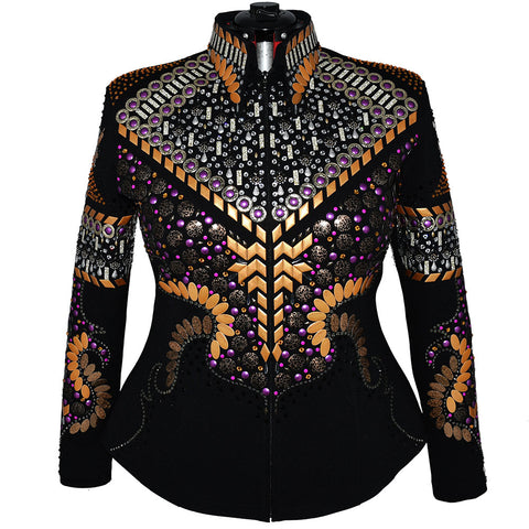 Gold and Purple All Day Jacket (2X)