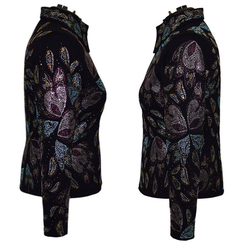 Abstract Butterfly All Day Jacket (1X)
