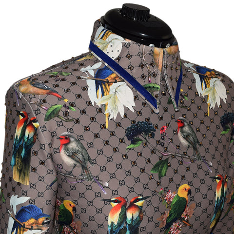 Birds of a Feather Horsemanship Shirt (XS/S)