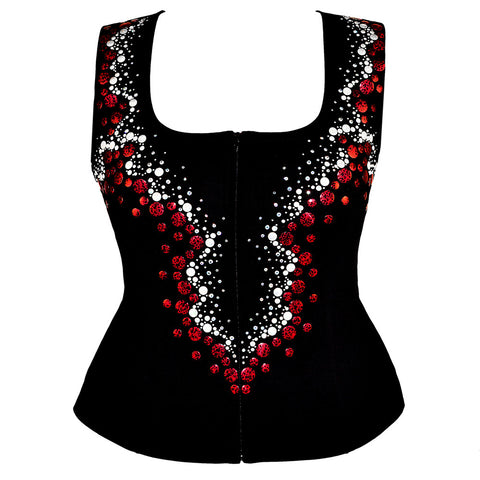 Red Galaxy Show Vest