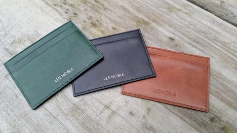 First prototypes Credit Card Wallets
