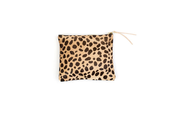 Hide Pouch, in Leopard Spot
