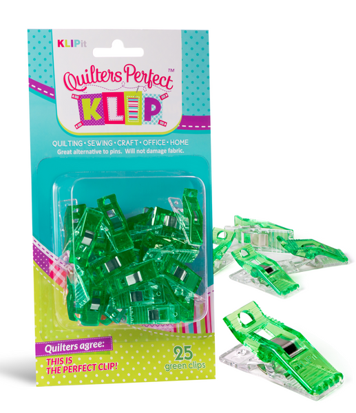 Pack of 25 KLIPit Quilt Binding Clips