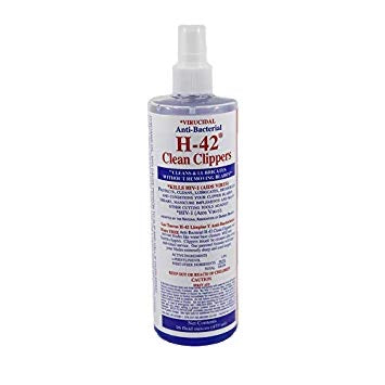 Virucidal Anti-Bacterial H-42 Clean Clippers