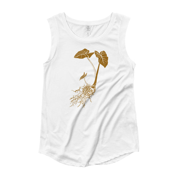 Haloa (Ladies' Cap Sleeve T-Shirt)