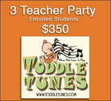 3 Teacher party (enrolled students)