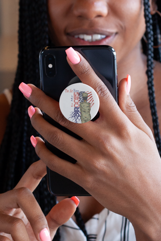 Air Force Roots (Female) Pop Socket