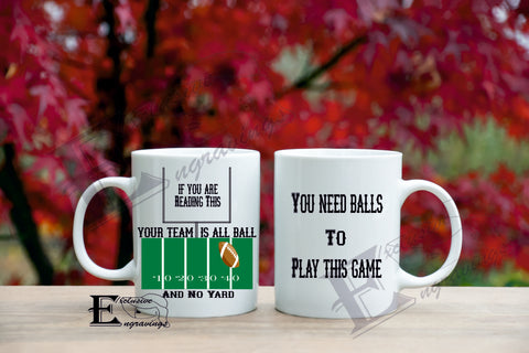 All Ball No Yard Mug