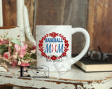 Baseball Mom Very Serious Mug