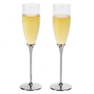Boston Toasting Flutes H 10 1/4