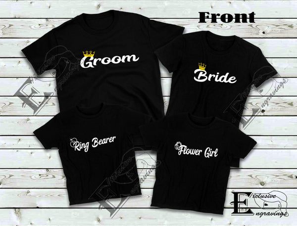 Flower Girl Kids T-shirt