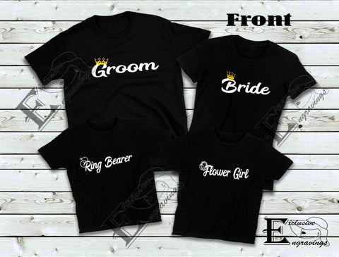 Bride Crowned T-shirt