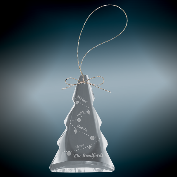 Crystal Tree Ornament