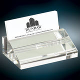 Executive Crystal Business Card Holder
