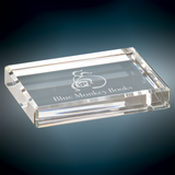 Premier Crystal Rectangle Paperweight