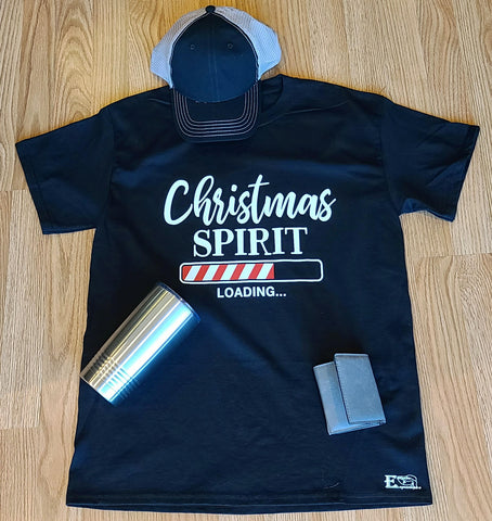Christmas Spirit Loading Mens Tshirt