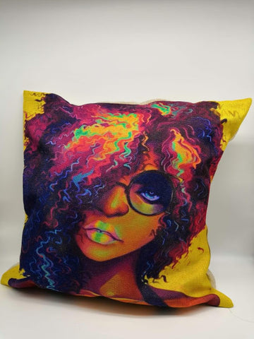 Colorful Black Girl Magic Pillowcase