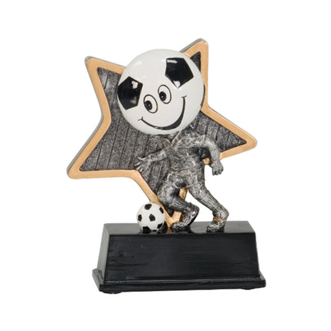 "Little Pal Soccer Resin Award (5"")"