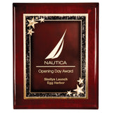 Rosewood Premium Piano Finish Plaque