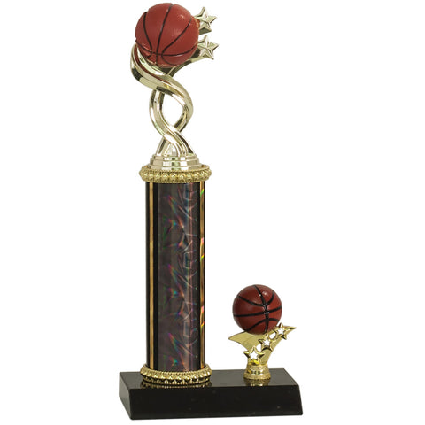"Twisted Basketball Sport Figure Trophy (11 3/4"")"