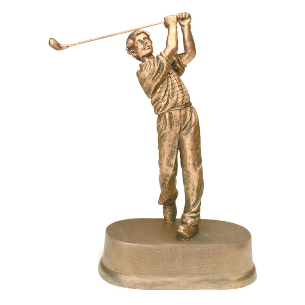 "Male Golf Resin Award (8 3/4"")"