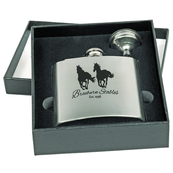 Flask Gift Set With Funnel