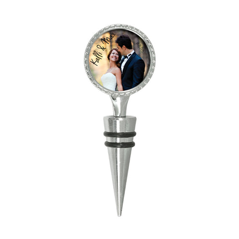 Elegant 2 Sided Wine Stopper