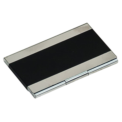 Black Metal Business Card Holder